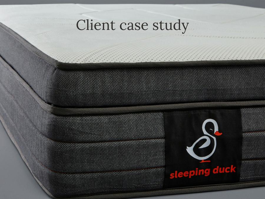 If It Quacks Like A Duck: Sleeping Duck Case Study